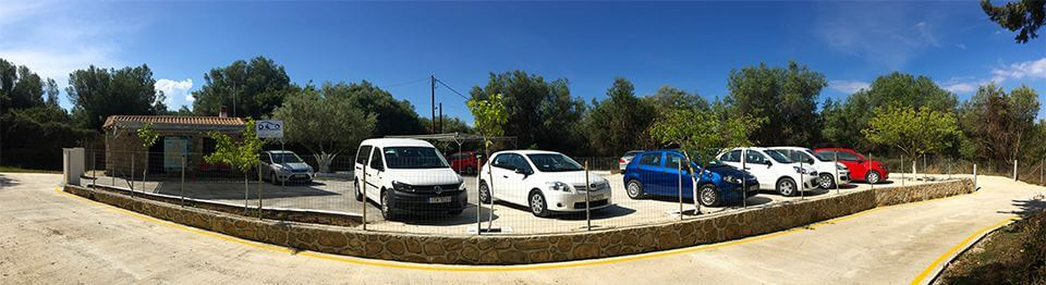 Rent Car Kefalonia airport office