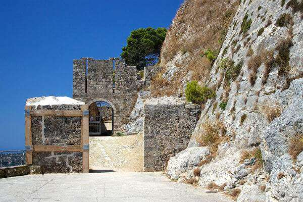 Castle gates of Agios Giorgios